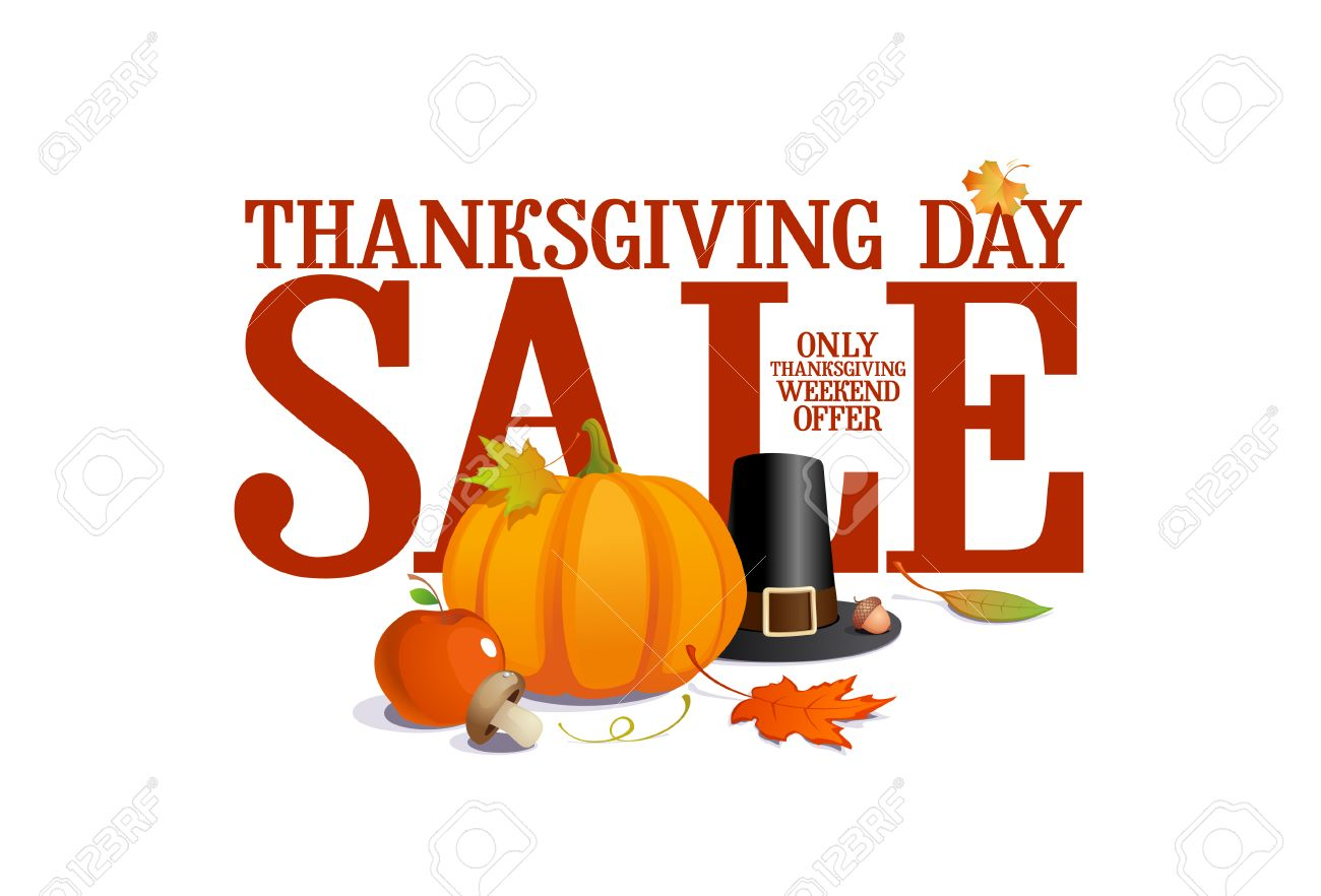 Thanksgiving Day Sale Design Royalty Free Cliparts Vectors And Stock Illustration Image 22748985
