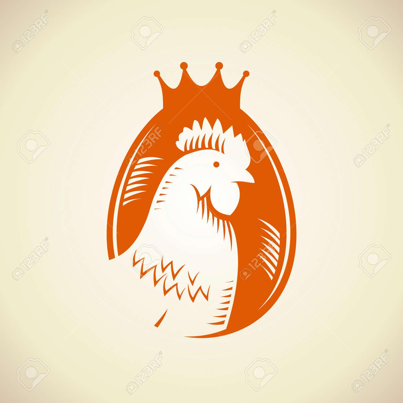 Egg Vector Logo Against Egg Logo