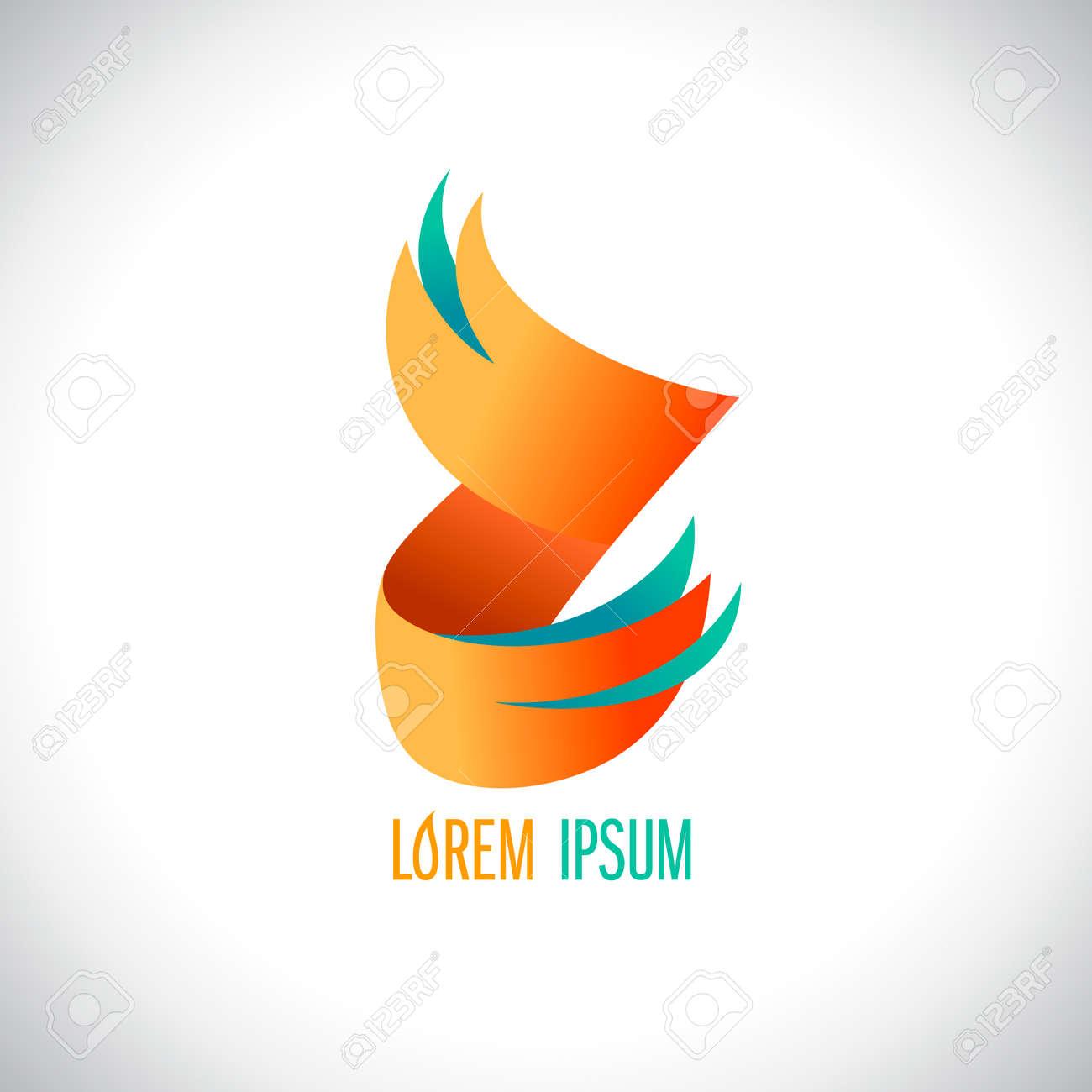 Abstract Z Letter Symbol Logo Design