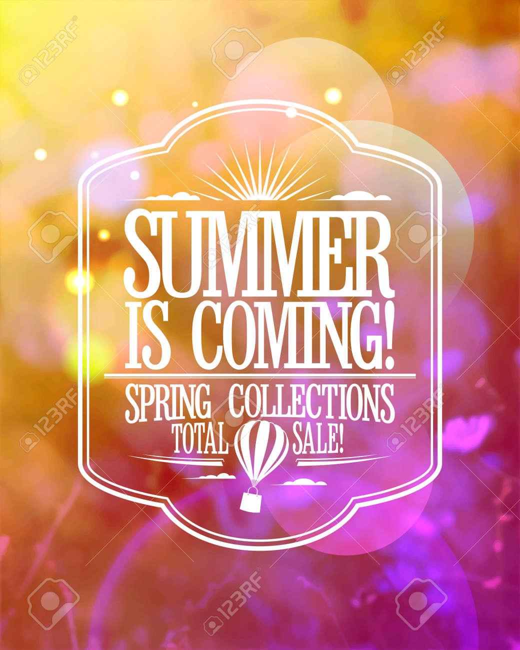 ファッション バナー , 夏が来て、春コレクション総販売