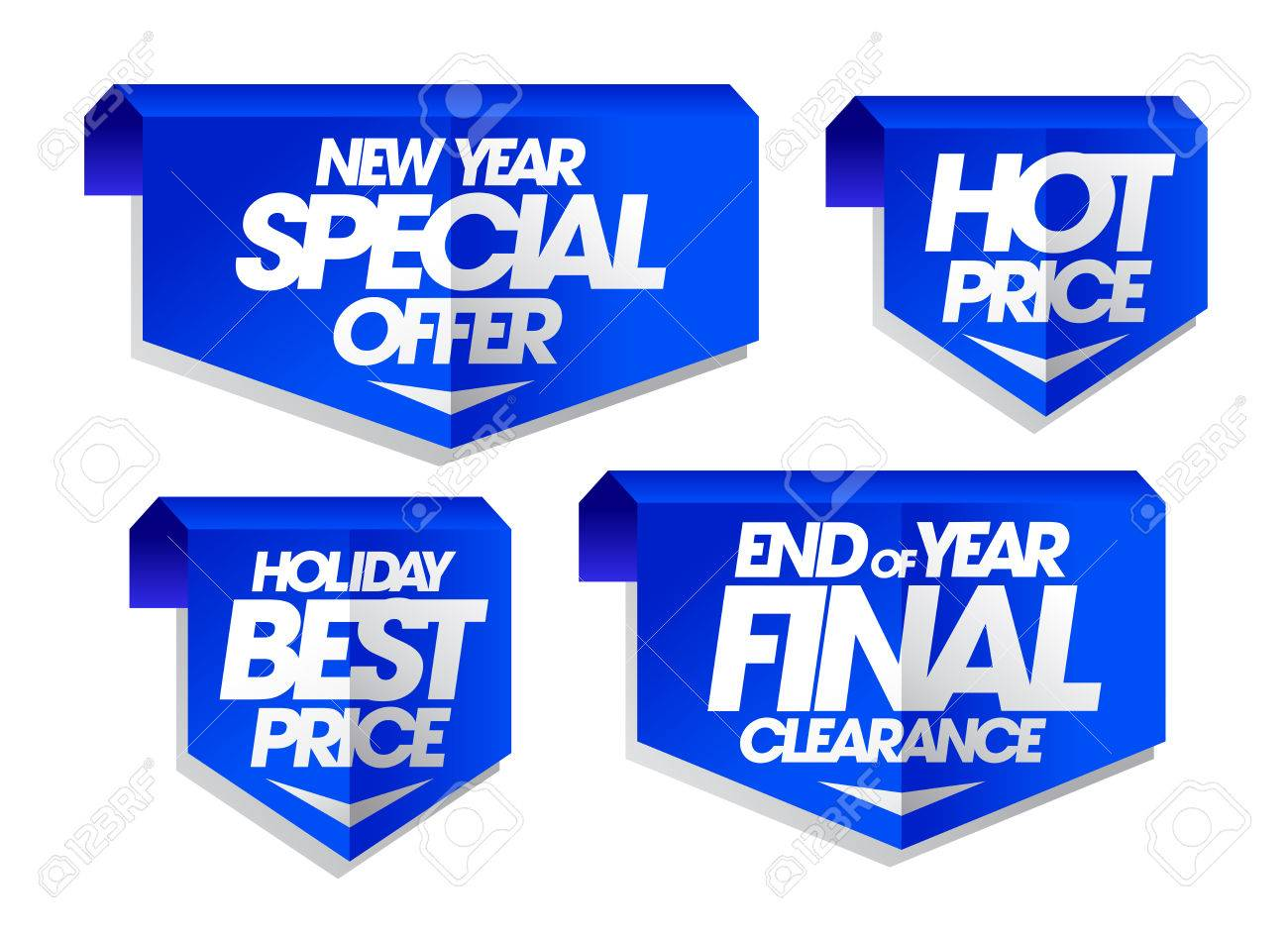 New Year Special Offer Holiday Best Price End Of Year Final Royalty Free Cliparts Vectors And Stock Illustration Image 64735140