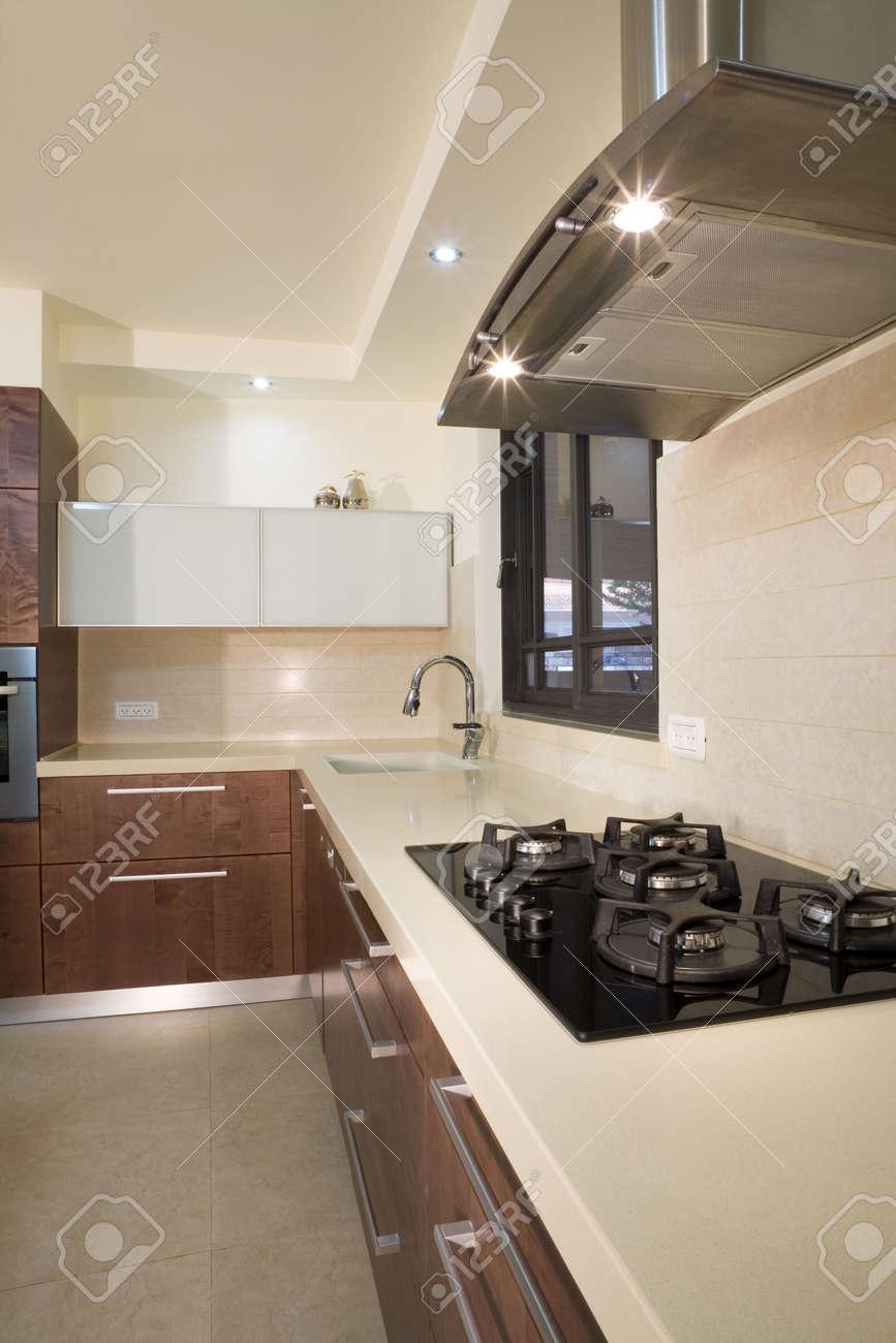 Cucina Design Moderno Sala / Cucina Di Lusso Foto Royalty Free ...