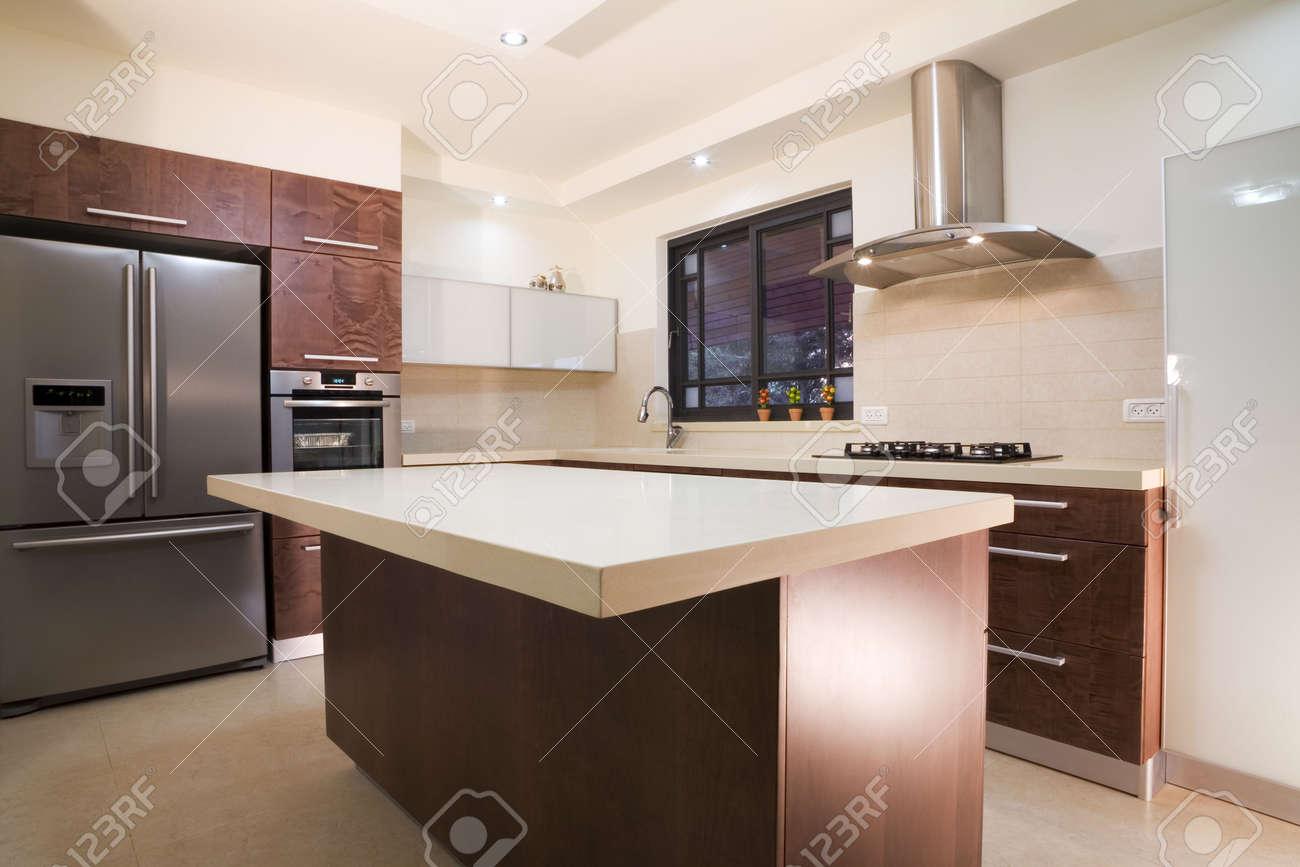Küche Zimmer Modernes Design / Luxus-Küche Lizenzfreie Fotos, Bilder ...