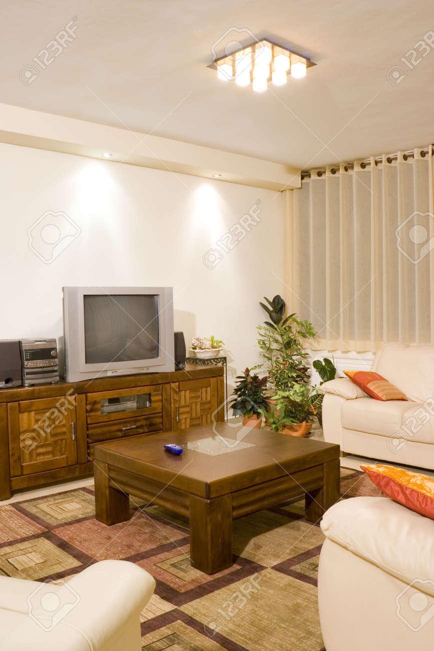 Wohnzimmer Suite Von Soft-Möbel, Modernes Interieur, Feng-Shui-Stil ...
