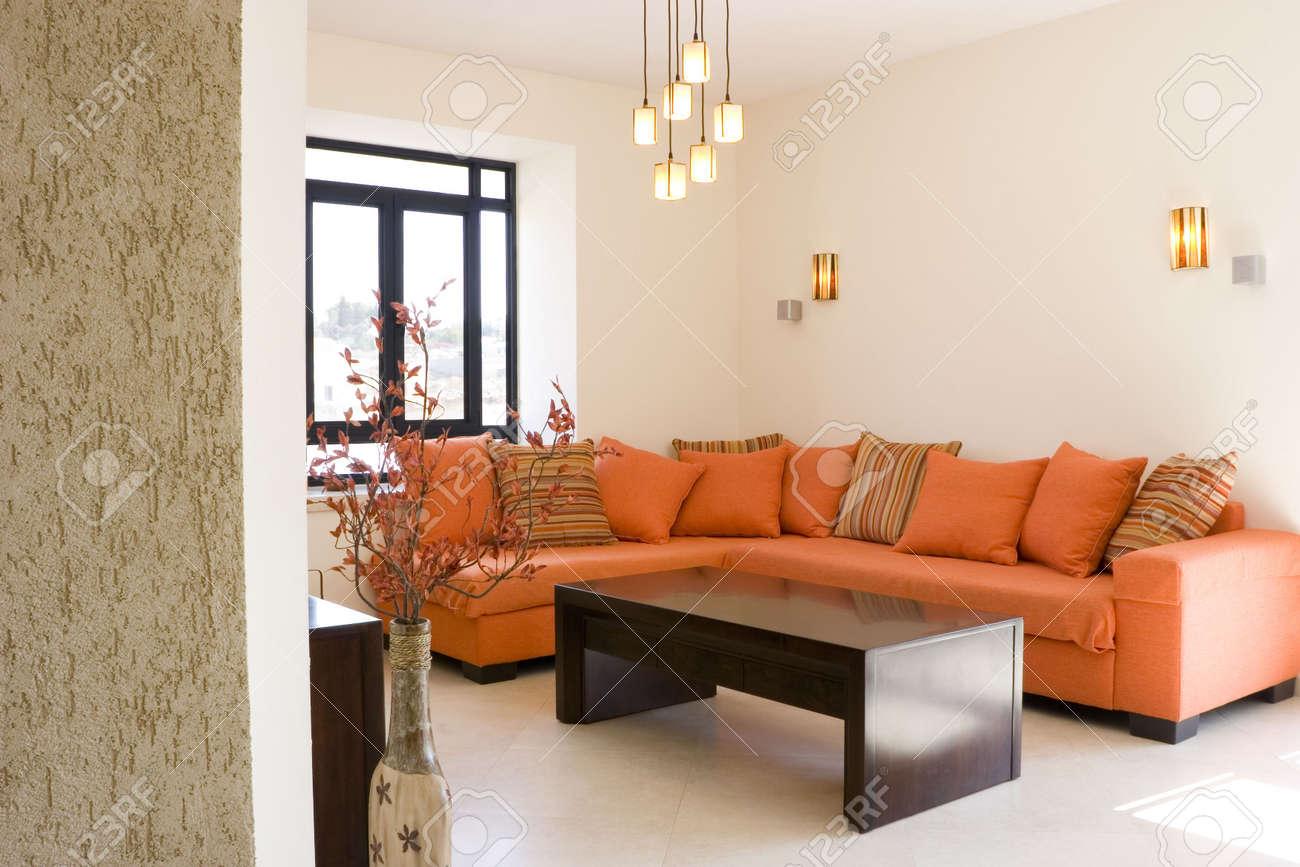 Ensemble de mobilier moderne salle de séjour en chalet / Le salon du  mobilier mis en