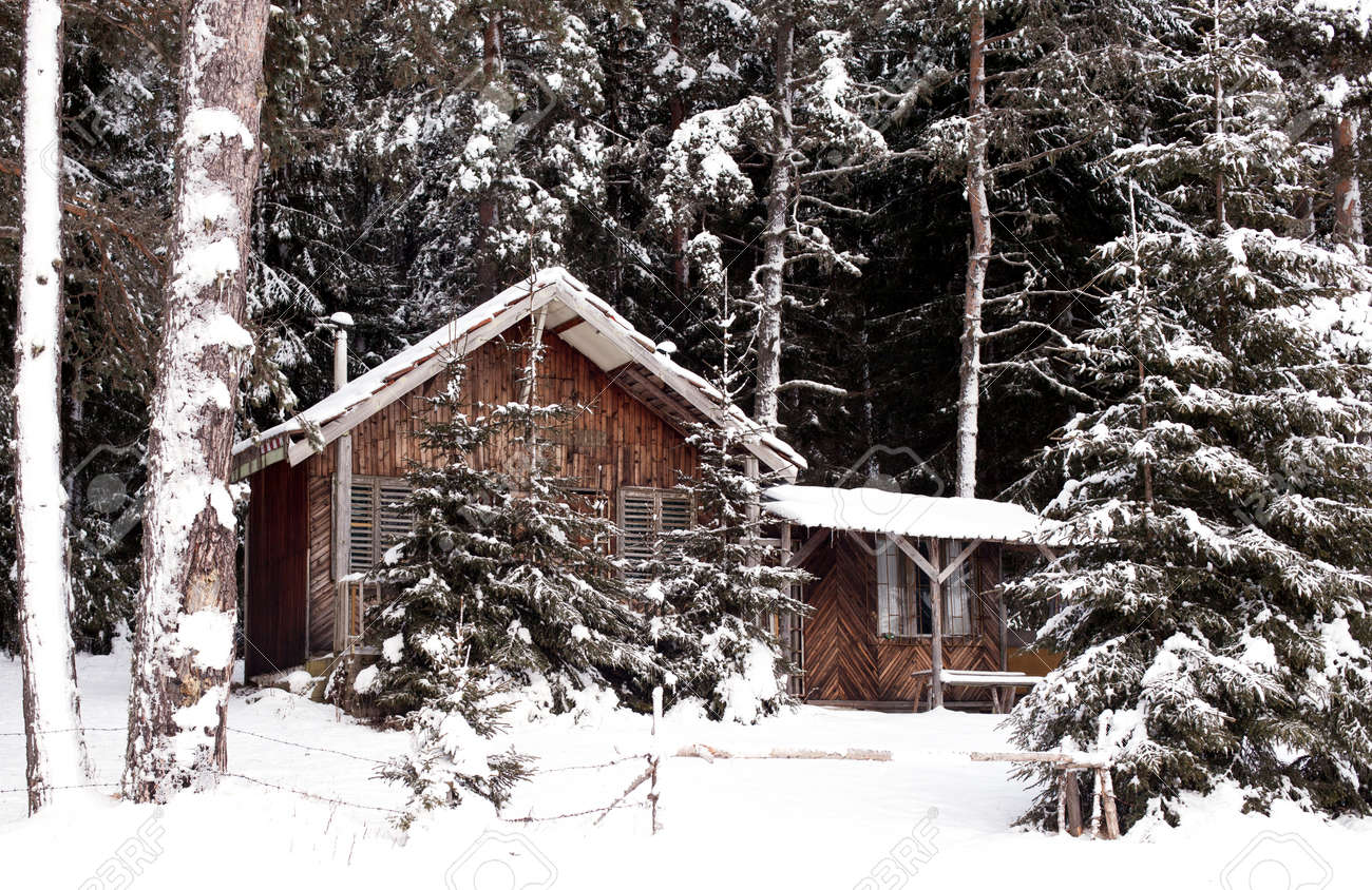 Resultado de imagen para cabaña en la nieve
