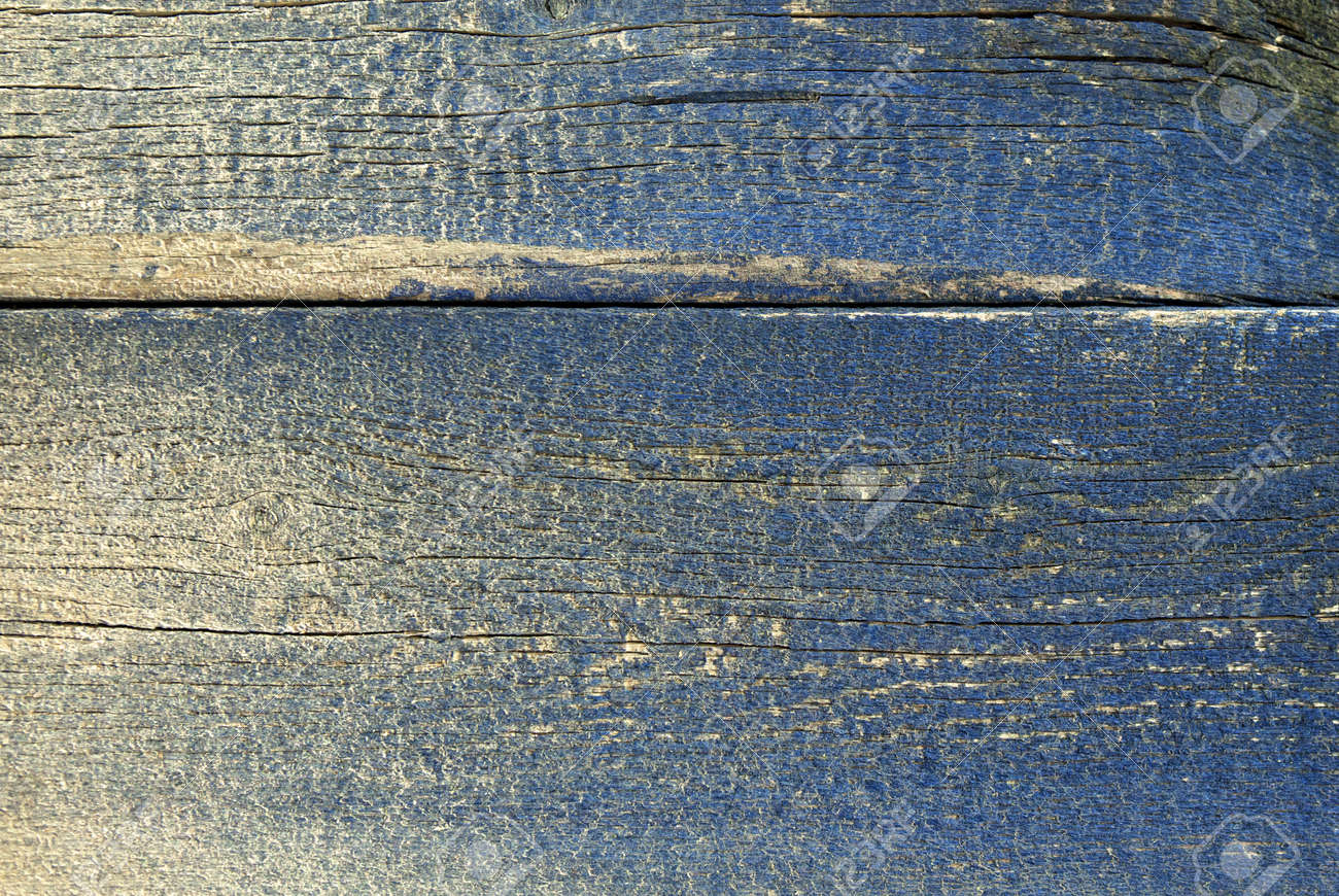 Superbe Banque Du0027images   Texture De Planche De Bois Brut Avec La Décoloration De  La Peinture Bleue