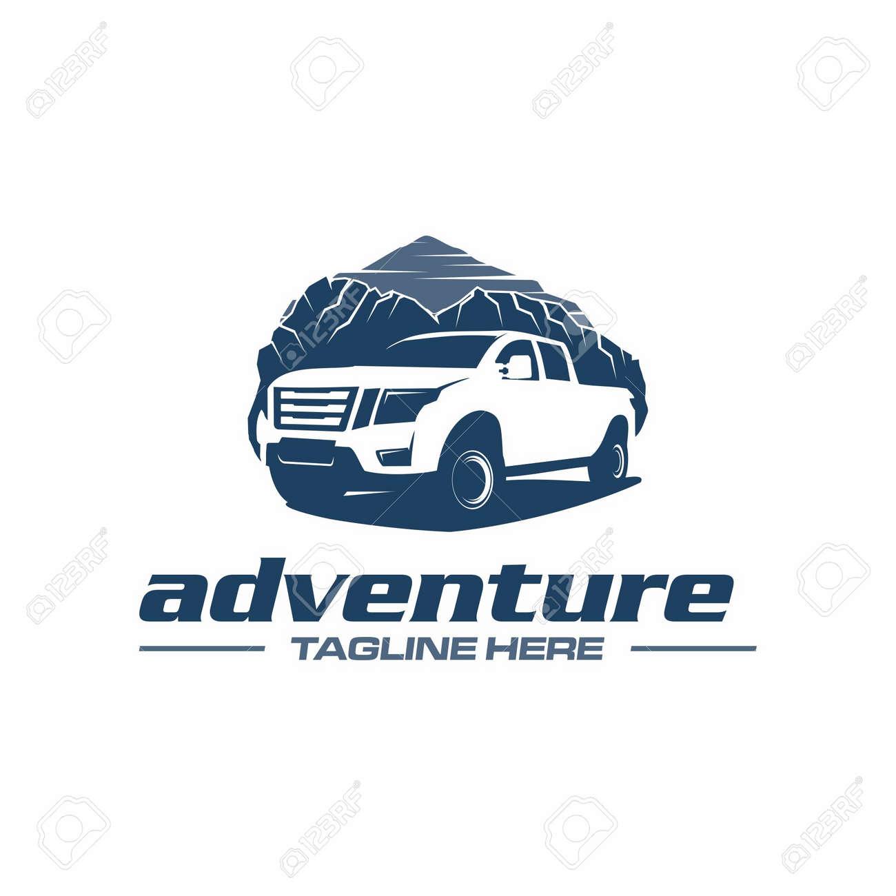 pickup truck adventure - 118640682