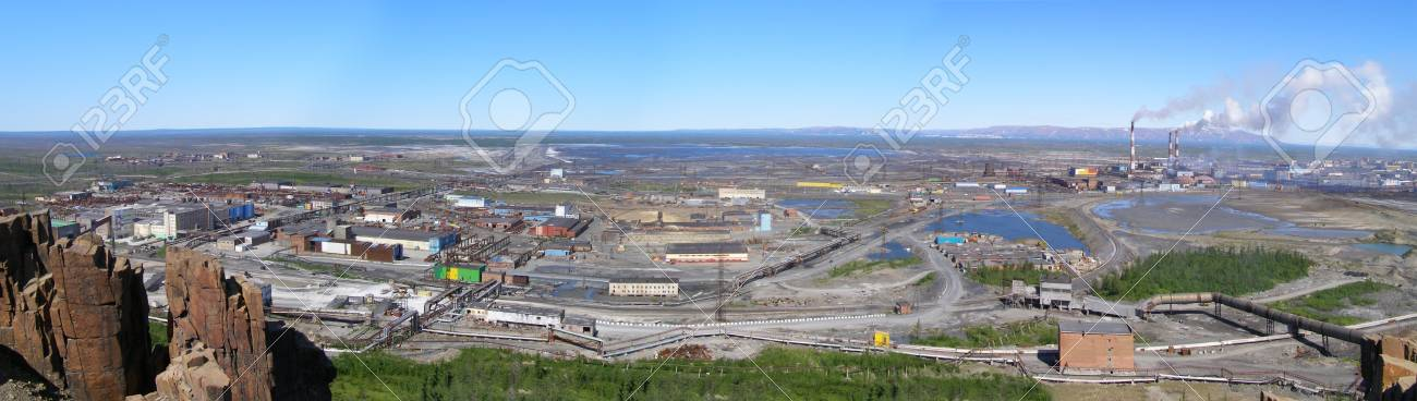 Industrial Taimyr Stock Photo - 12966882