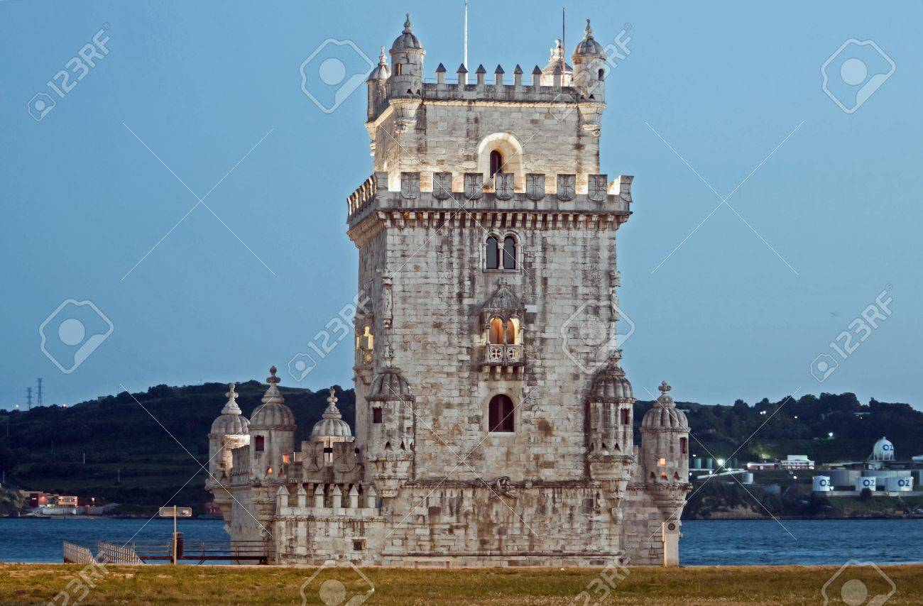 Portugal castle architecture landscape history of the fortress city museum Stock Photo - 9709488