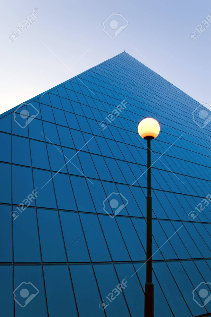 Tall building with street lamp Stock Photo - 9613964
