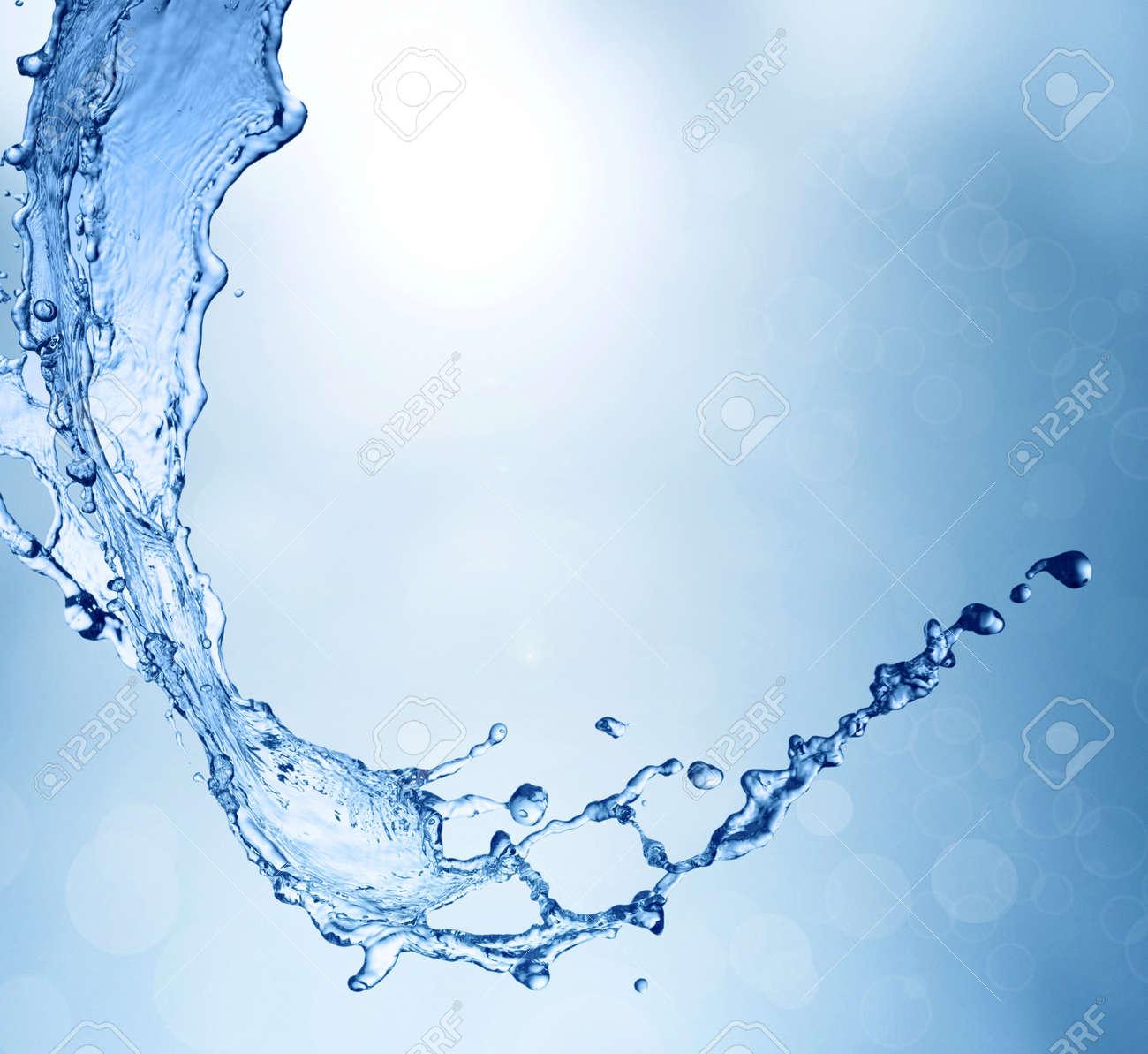Spring fresh water background Stock Photo - 11247498