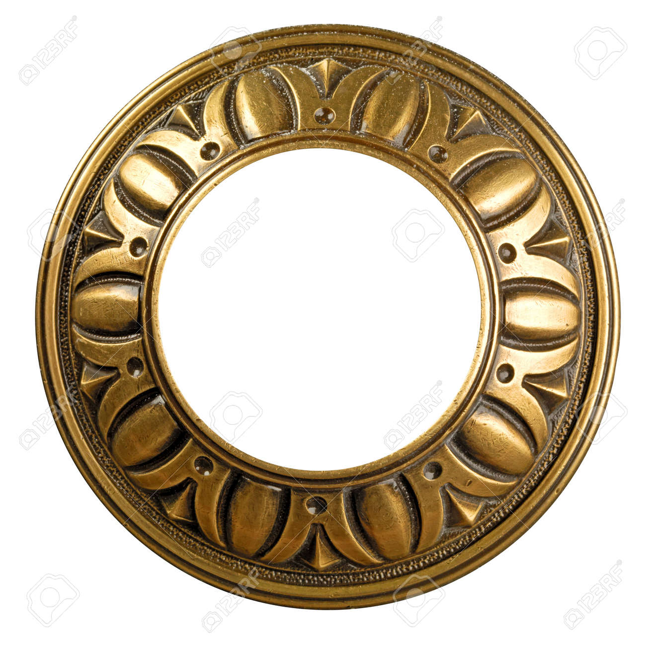 stock photo vintage gold ornate frame