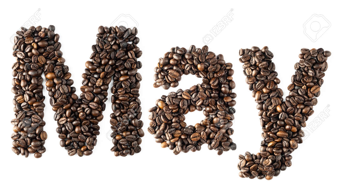 Coffee bean sort alphabetically  The word is May  Which is the