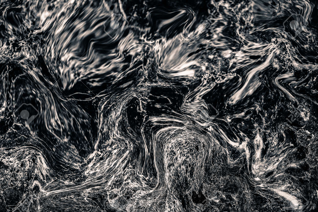 Abstract Wave Pattern Dark Grey Marble Ink Texture Background Stock Photo Picture And Royalty Free Image Image 86108232