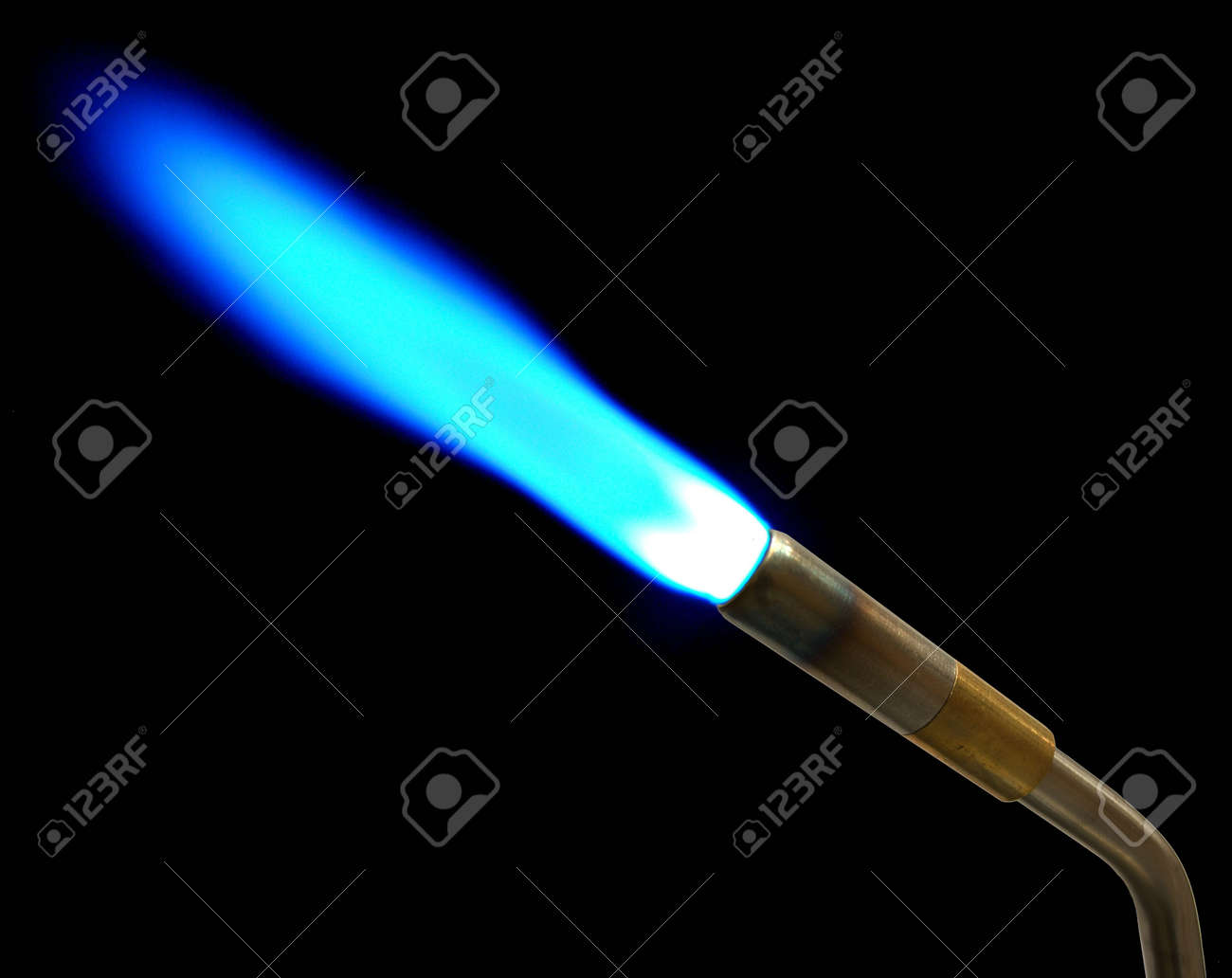 5733989-This-a-MAPP-gas-torch-shot-in-th