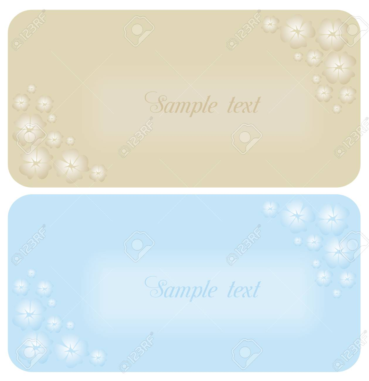 Beautiful wedding invitation or card Stock Vector - 6968122