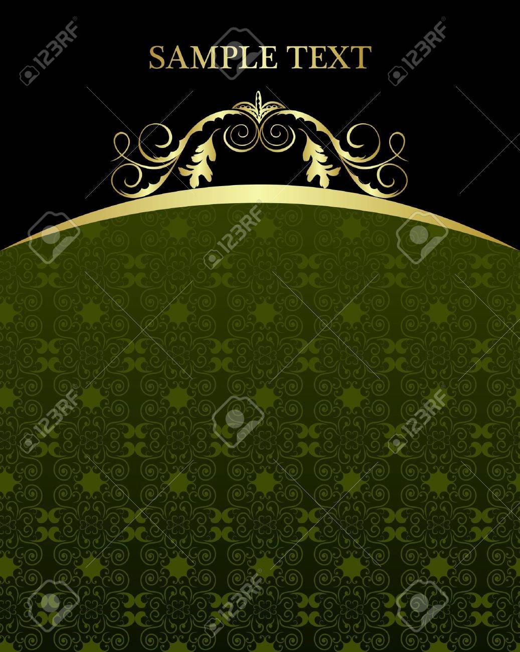 Illustration luxury background card for design Stock Vector - 7589864