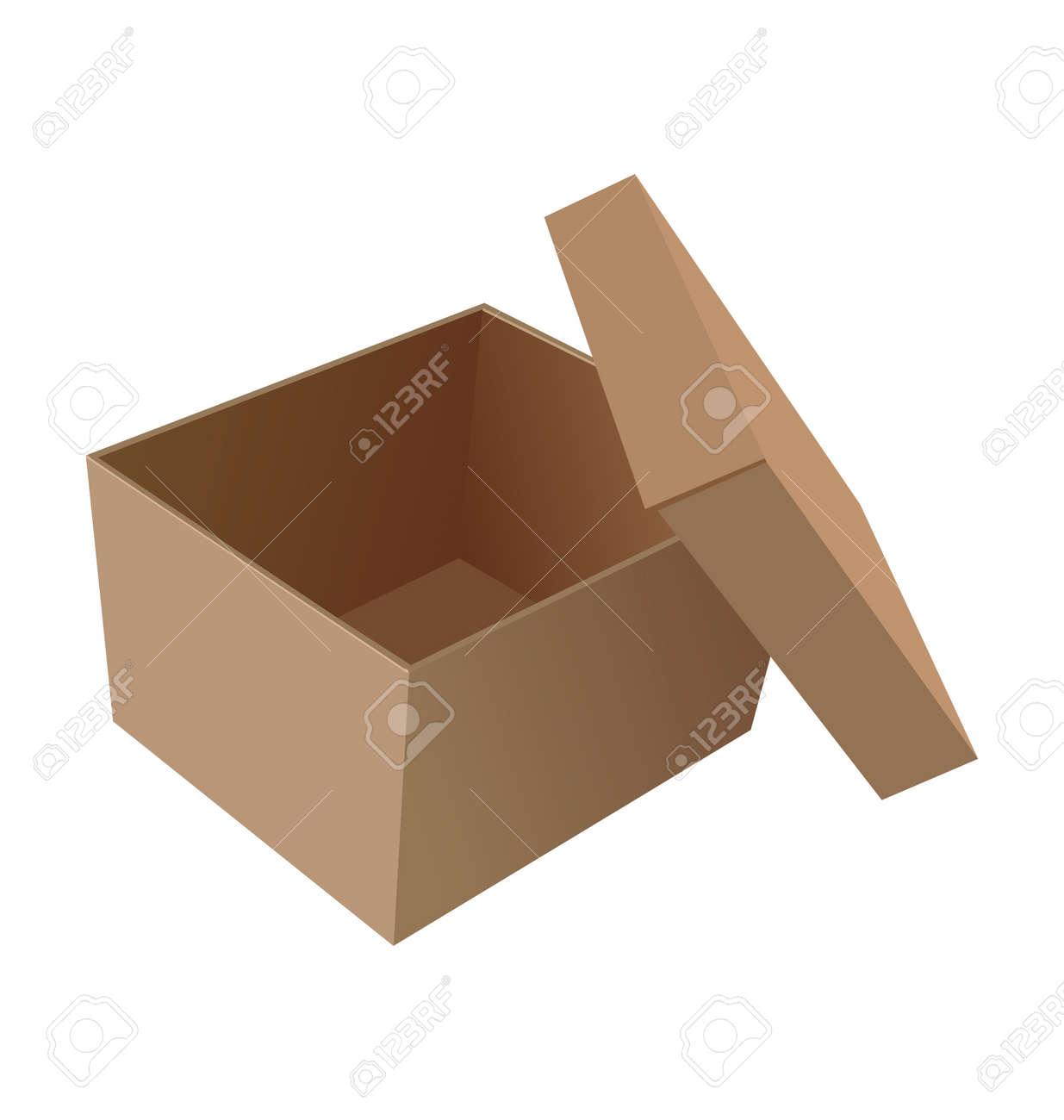 open box Stock Vector - 7588949