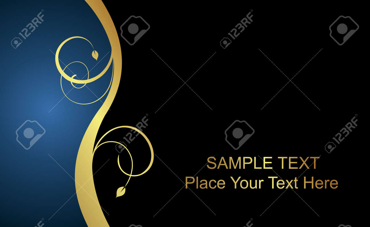 beautiful luxury card or invitation Stock Vector - 7589119