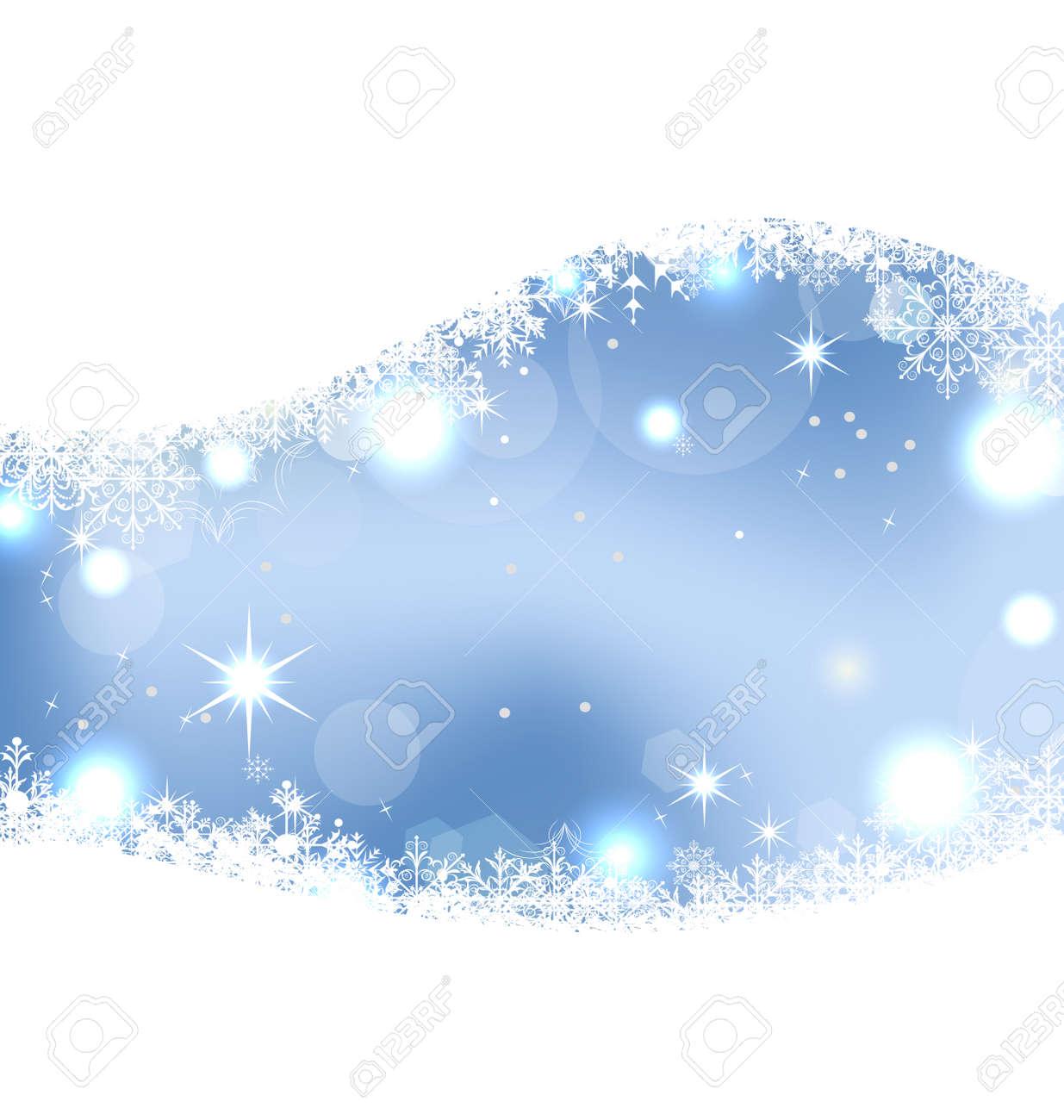 輝き 雪 星の図クリスマスかわいい壁紙のイラスト素材 ベクタ Image