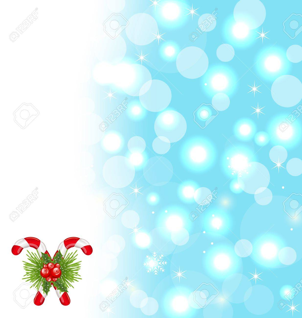 illustration christmas cute wallpaper with sparkle, snowflakes