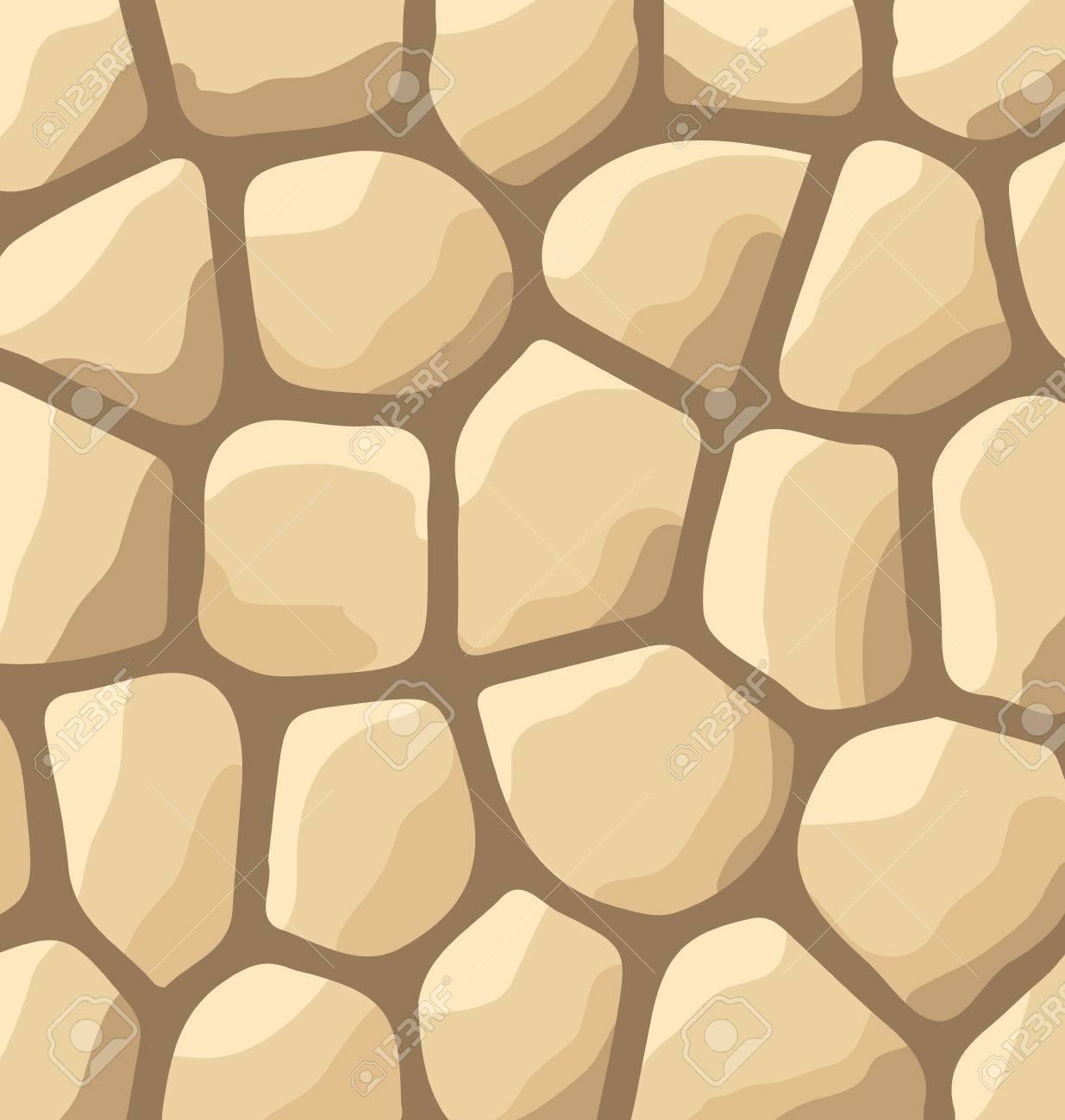 ilustracin textura de piedras fondo de la pared de piedra vector foto de archivo