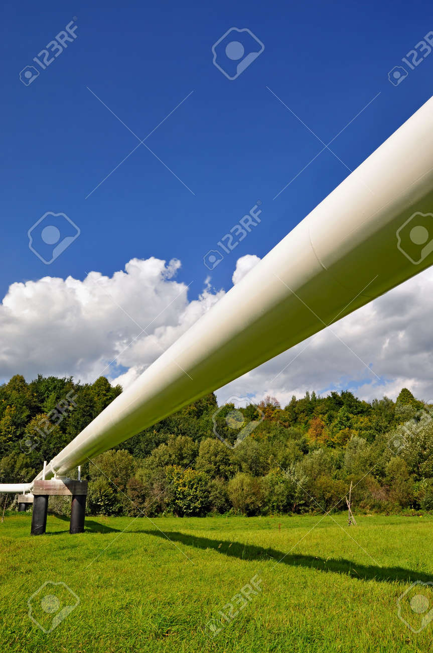 The high pressure pipeline Stock Photo - 10585544