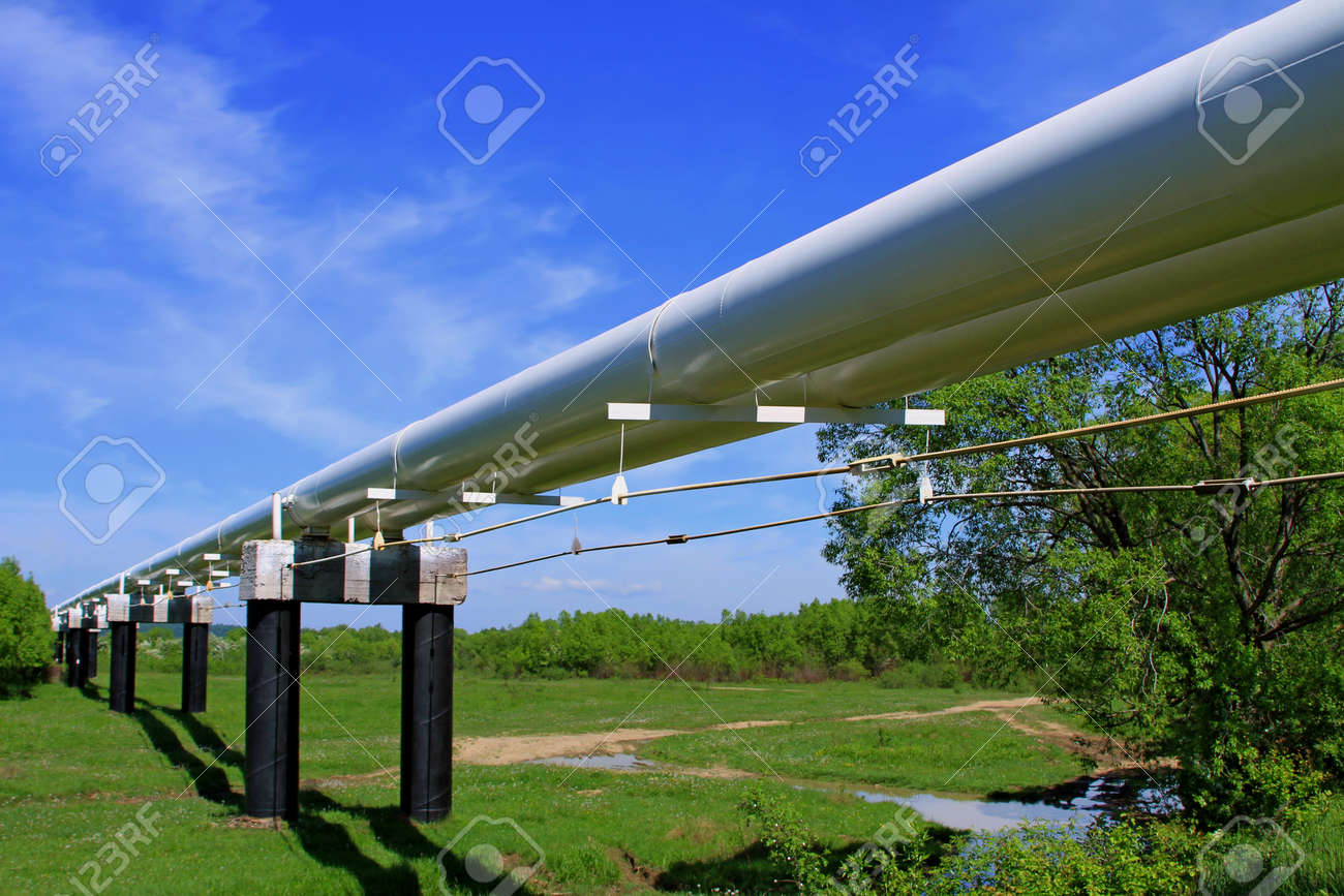 The high pressure pipeline Stock Photo - 13719438