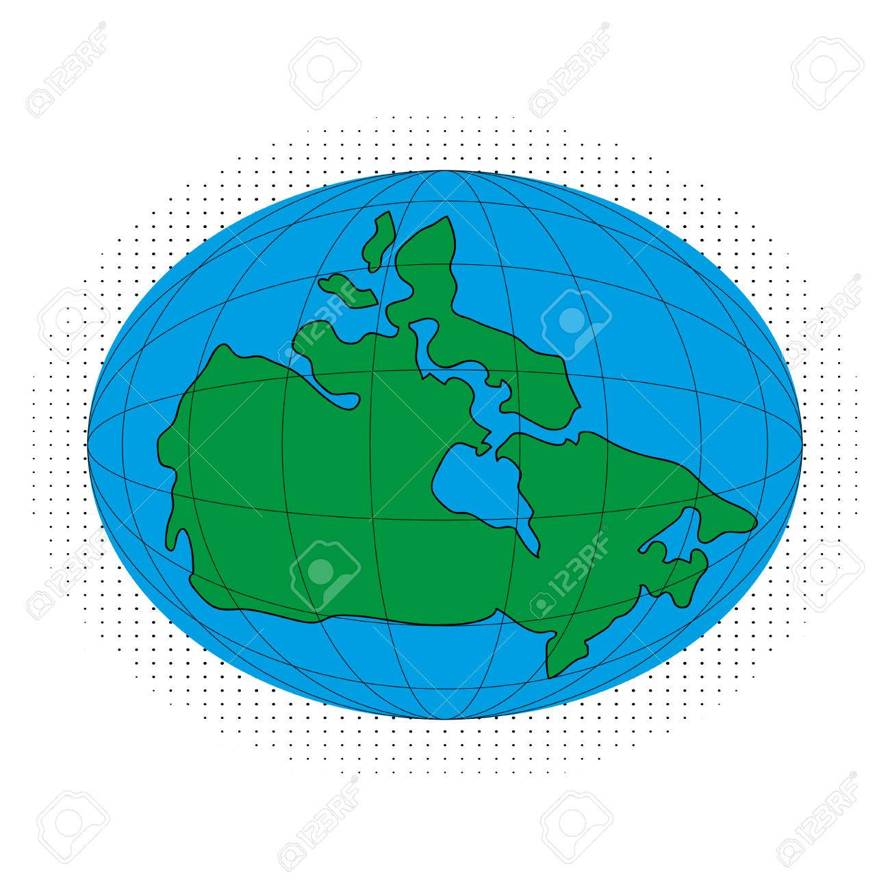 Map Of Canada On Globe.Icon Map Of Canada Globe Map Earth Royalty Free Cliparts Vectors