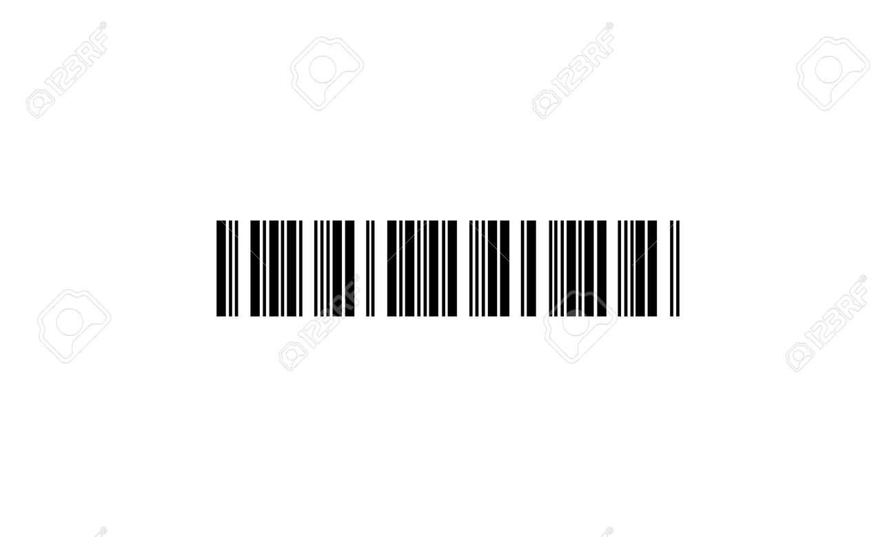 barcode - vector icon