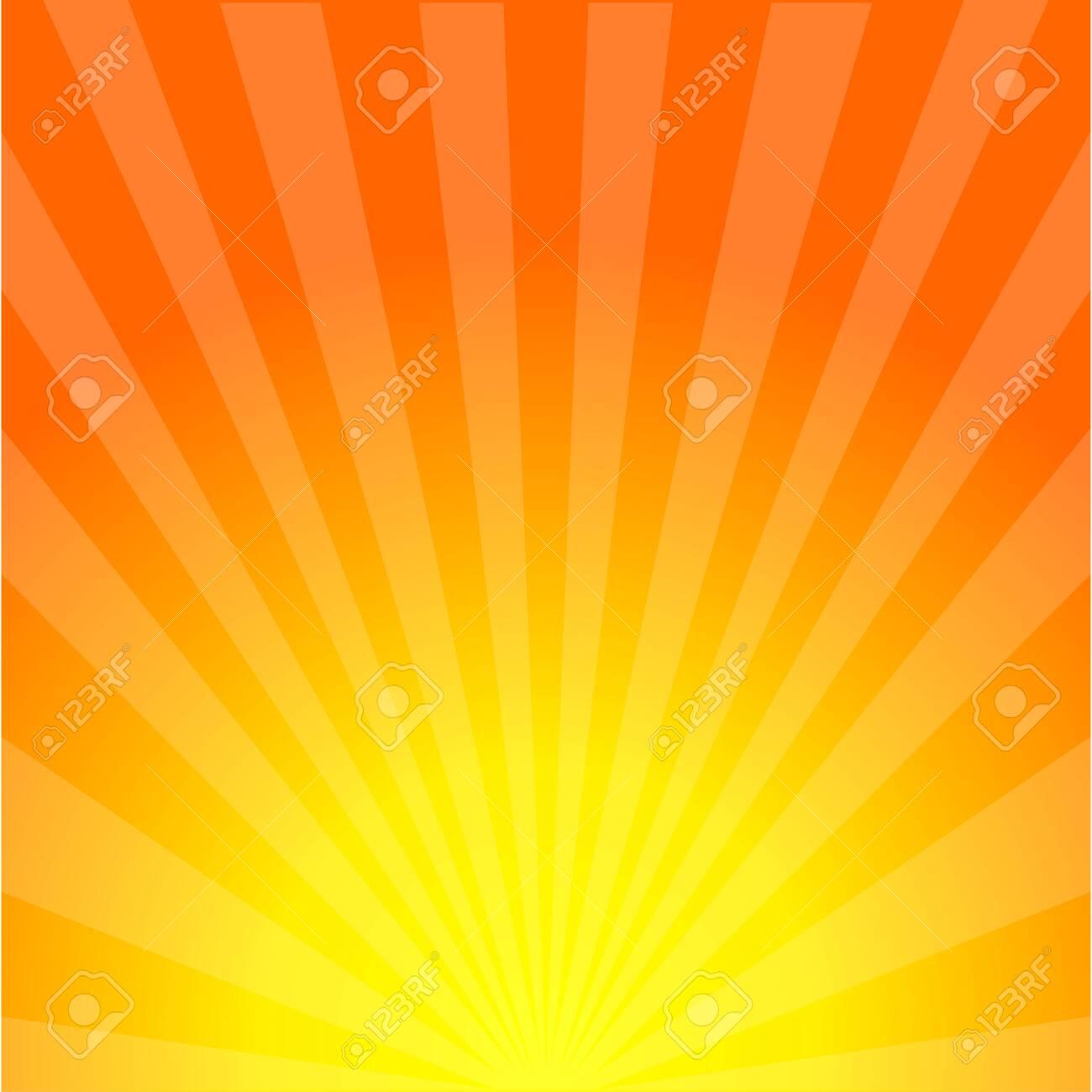Sun rays background. Sunburst. Sunshine. Sunset. Summer sun. Sunrise. Eps10 - 124142721