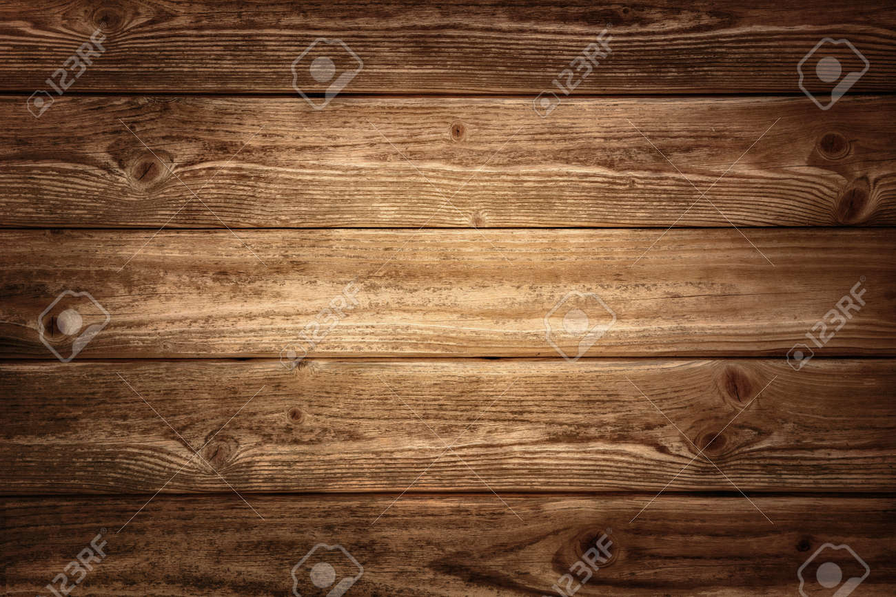 Rustic Wood Planks Background With Nice Studio Lighting And ...