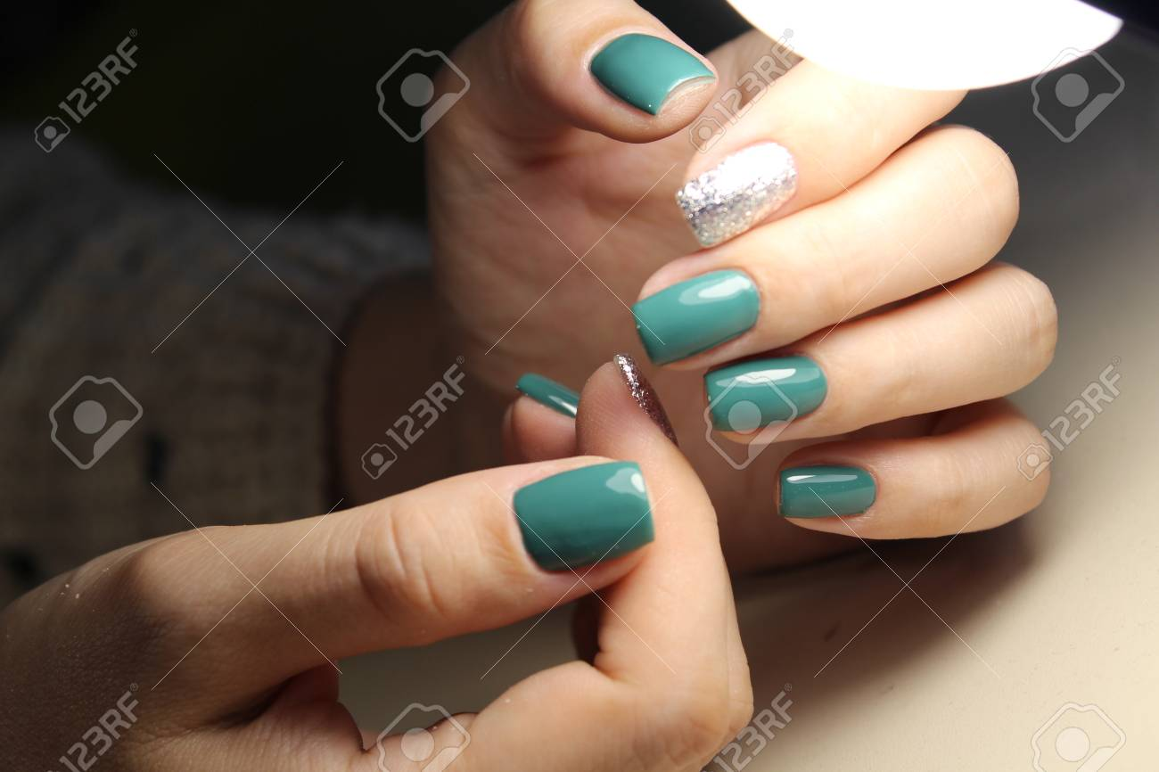 Fashion Nails Design Manicure, Best Of 2017 Stock Photo, Picture And ...