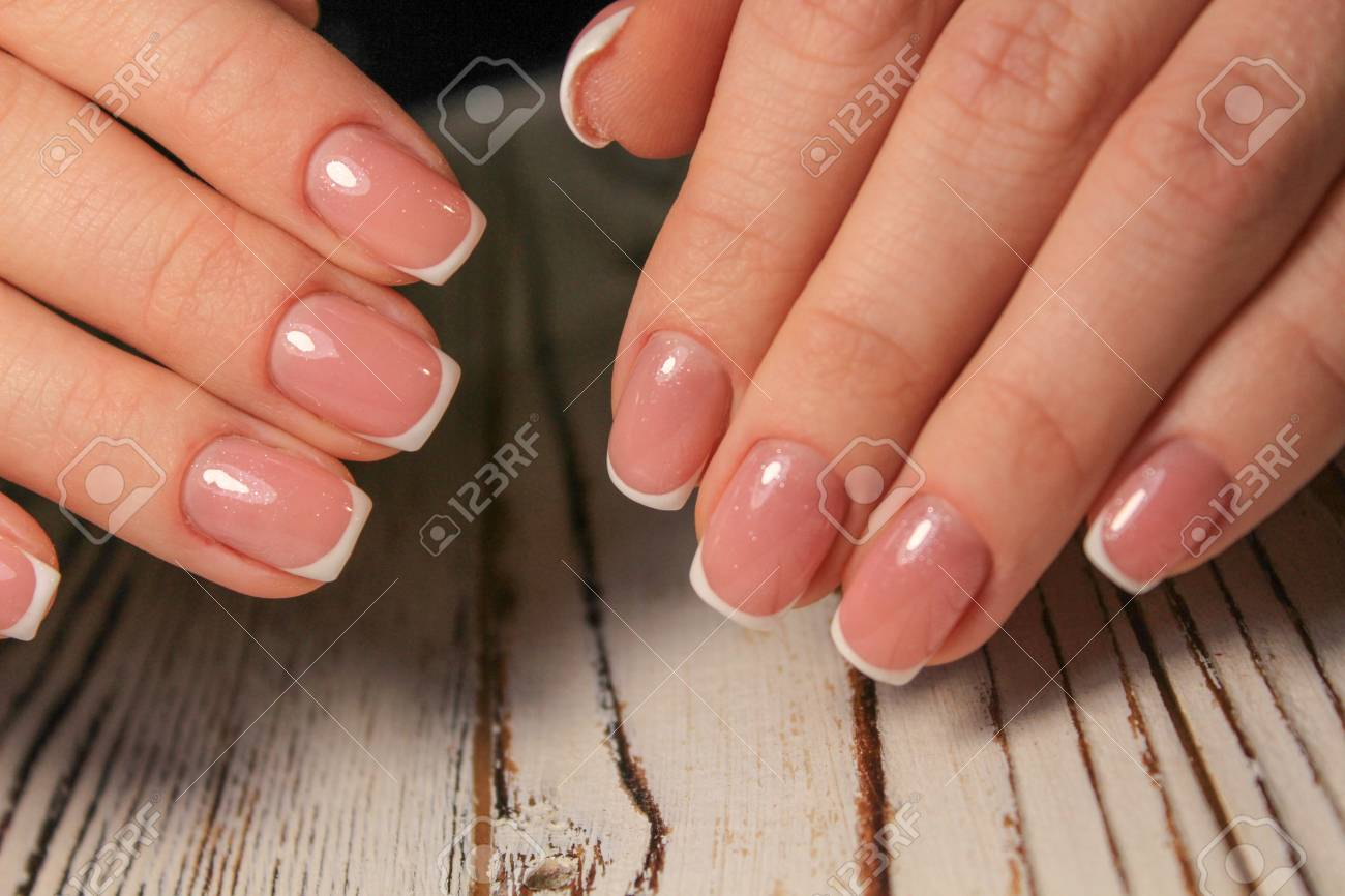 Stock Photo - Women s hands with a stylish manicure. 2df4f3b79