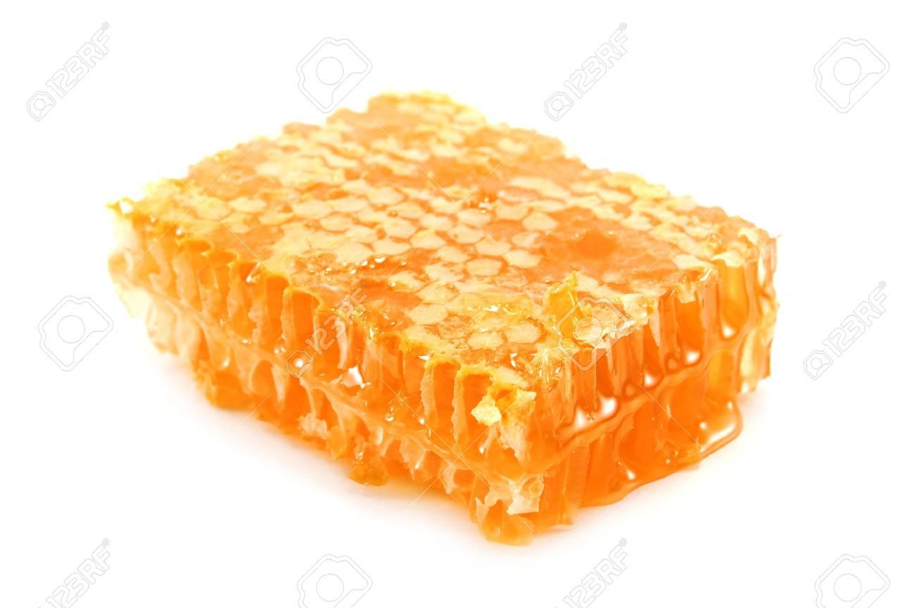 honeycomb isolated on white background Stock Photo - 3761466
