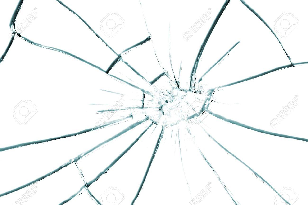broken glass texture close up Stock Photo - 6979062