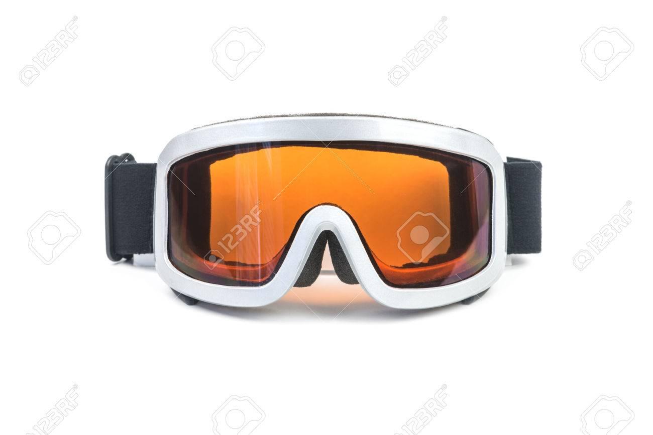 ski glasses isolated on white - 30720188