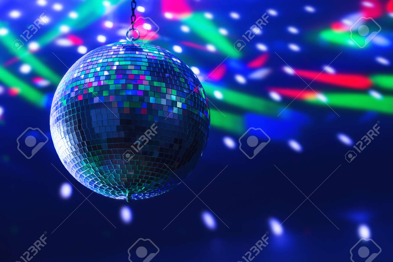 disco ball background close up - 40932012