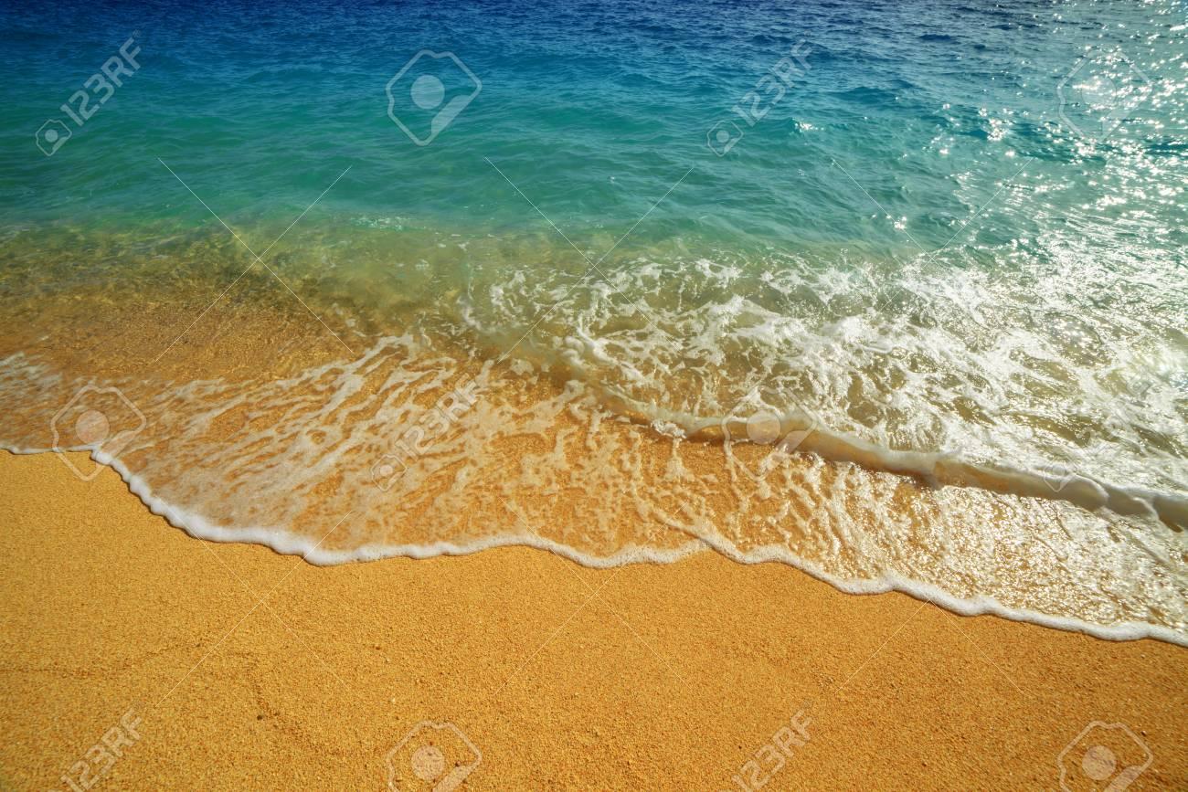 beautiful mediterranean seascape close up - 57985132