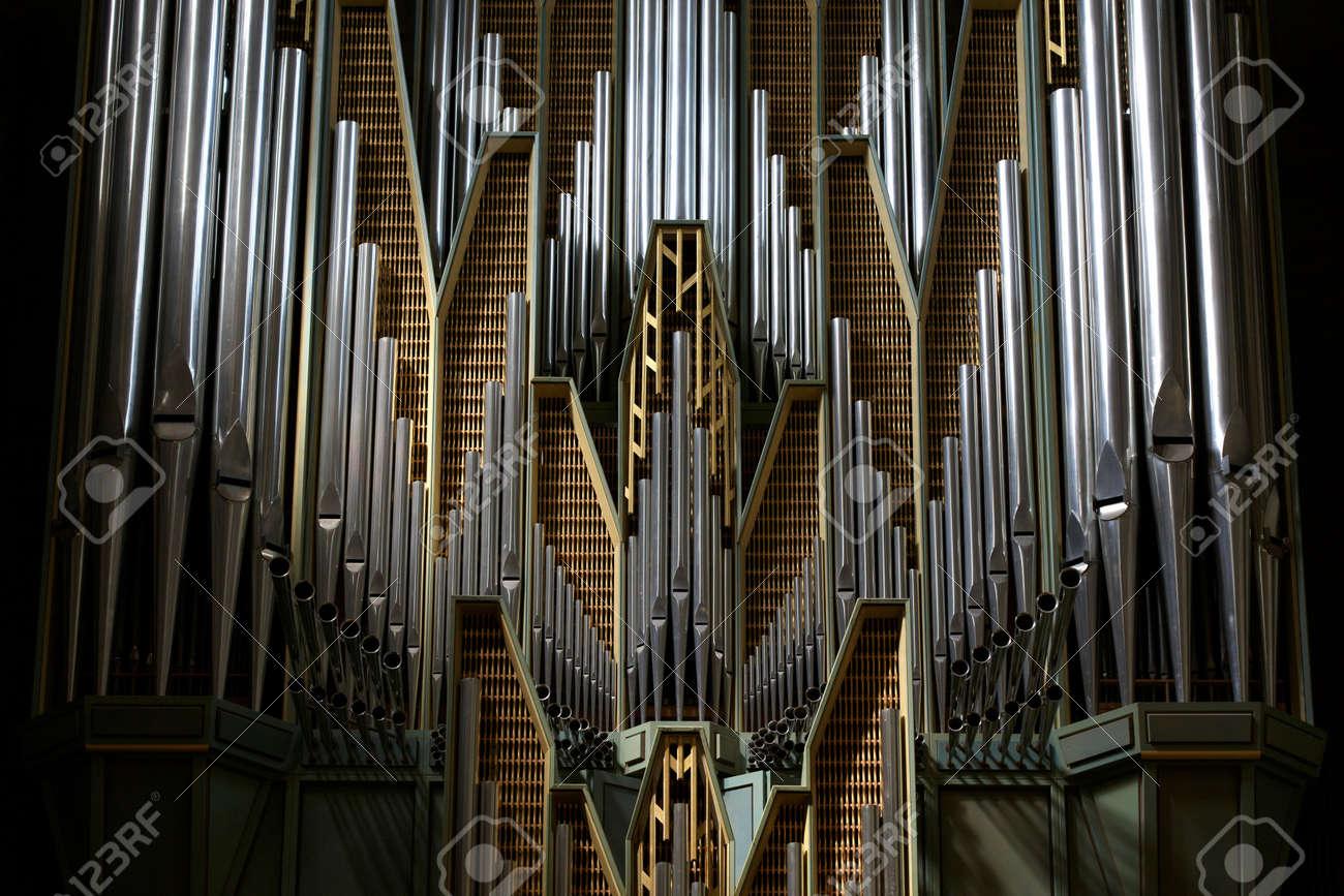 Detail of traditional church organ Stock Photo - 20095480