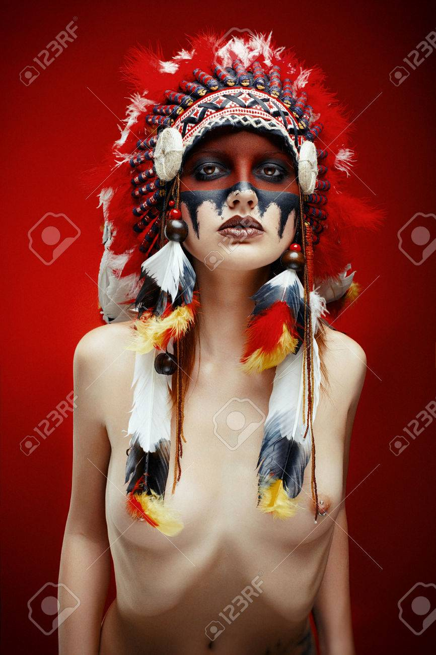 Native indian nude — img 4