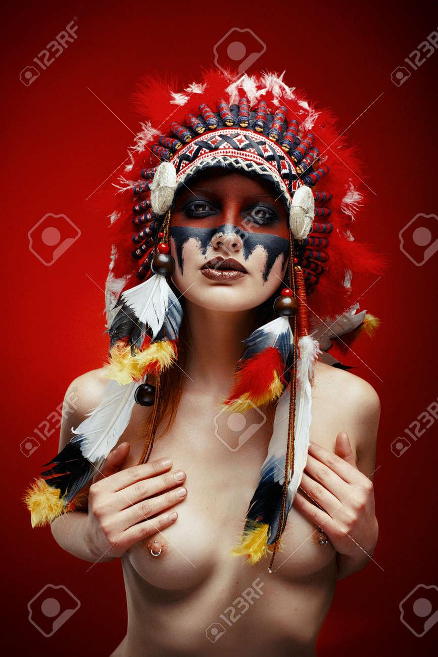 nackte native american indian weiblich