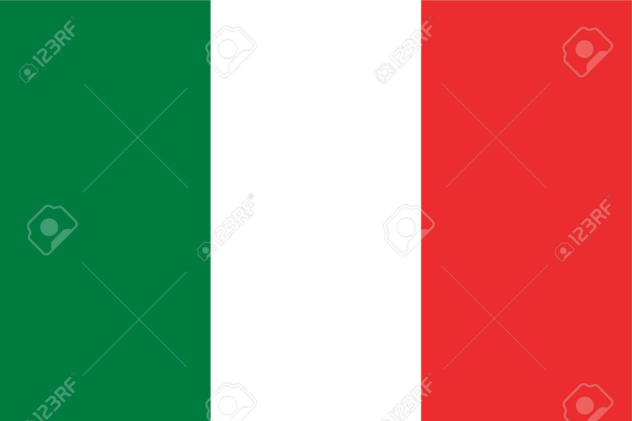 Italy - Italian Flag - Simple Flag - Vector Stock Vector - 839345