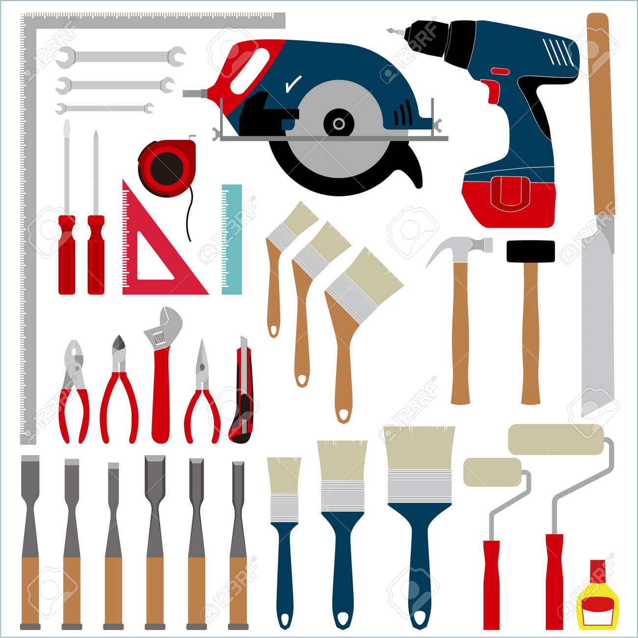 大工道具のイラスト素材ベクタ Image 64508654