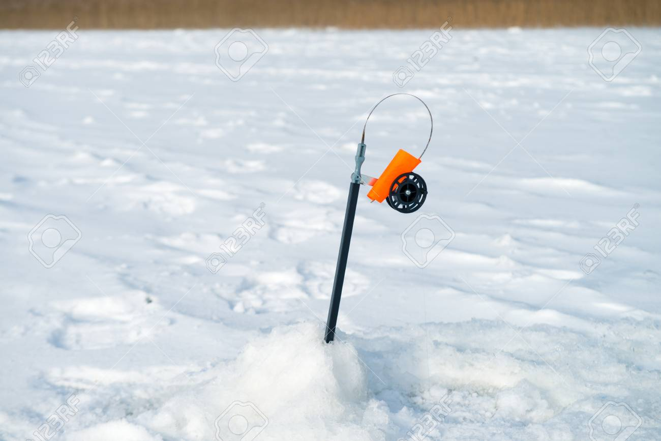 Fishing rod for winter fishing 68