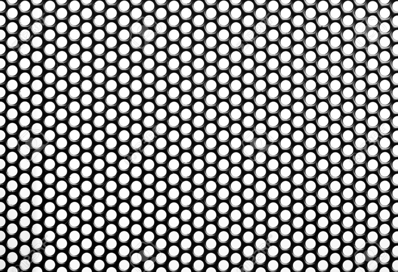Close up Iron Perforated Sheet Stock Photo - 16309414