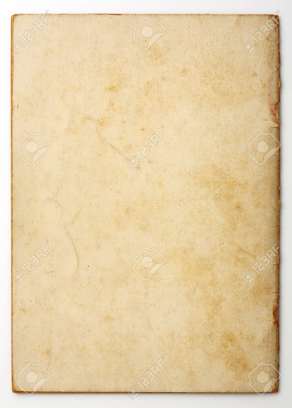 Old and weathered blank note paper Stock Photo - 17304611