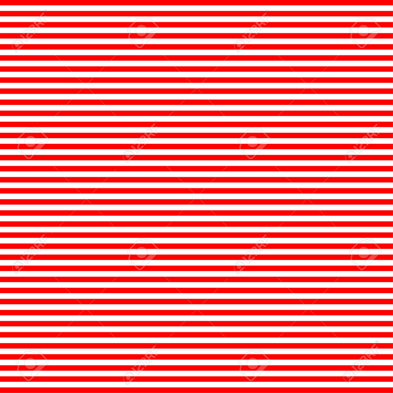 horizontal red and white stripes in square area stock photo picture