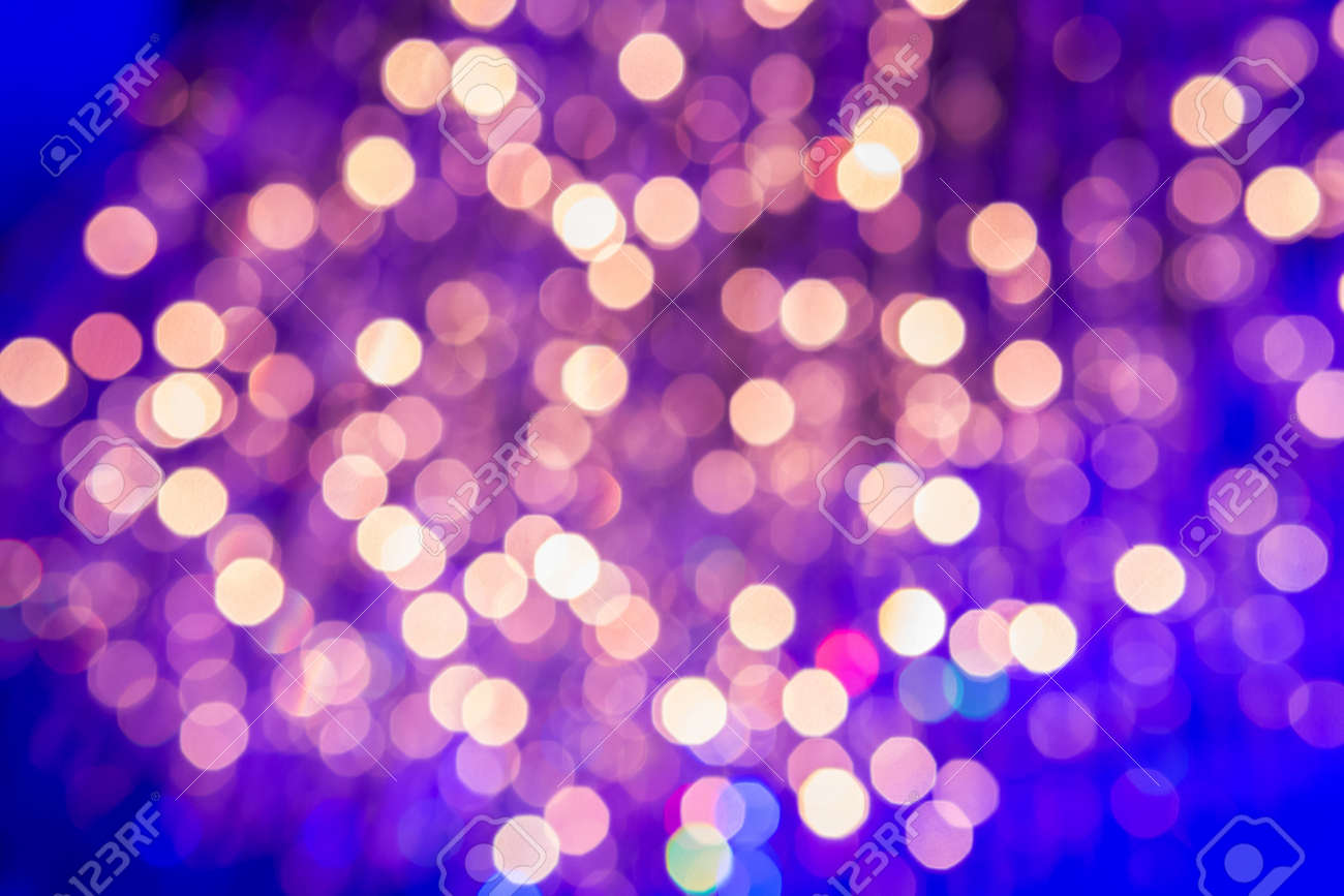 Abstract blue and red color light Bokeh Stock Photo - 19929800